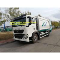 China 4x2 12M3 sinotruk Howo7 garbage truck with 290hp 336hp Left hand drive Euro2 on sale