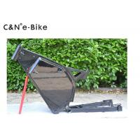 Single Speed Aluminum Mountain Bike Frame For 1000w - 5000w Electric Bike Manufactures
