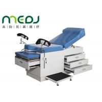 Hospital Use Medical Gynecological Examination Couch Table With Drawers Manufactures