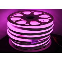 Pink LED Neon Tube Light For Bathroom / Club Decorative UV Resistant Manufactures