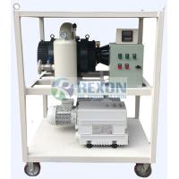 RNVS -600 Vacuum Pump Set For Double Stage Transformer Evacuation System Manufactures