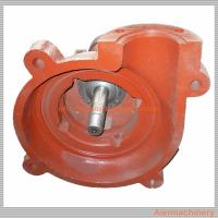 Iron Mining Slurry Pump / Rubber Impeller Pump Parts Of Centrifugal Pump Multi Function Manufactures