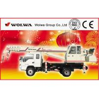small wheel crane truck mounted crane with telescopic GNQY-C8 Manufactures