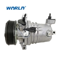 China Auto AC Compressor For Nissan Geniss CR10 6PK 2007- New Model 12V Air Conditioning Pumps on sale