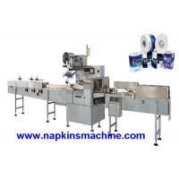 Automatic Single Toilet Roll Packing Machine For Plastic Soft Bag Wrapping Manufactures