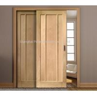 Interior Oak Wooden Sliding Doors Painted Surface Maximum Height 2350mm Large Size Manufactures