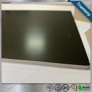 Buy cheap Matt Black High Grade Aluminum Mirror Sheet Composite Panel For Decoration from wholesalers