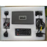 Security Universal Car Reverse Parking System 360 degree Panoramic View With 4 View Angle Cameras Manufactures