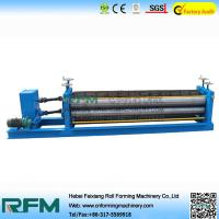 Corrugated Iron Sheet Roof Tile Making Machine For Roofing 50HZ Frequency Manufactures