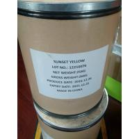 China TARTRAZINE (Lemon yellow) for food additives (yellow color for juice, cake etc) on sale