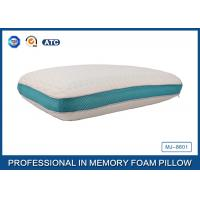 Anti Bacterial Comfort Revolution Cool Gel Memory Foam Pillow For Summer , Queen Size Manufactures