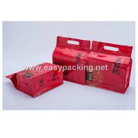 Qual side sealed flat bottom pouches with zipper for tea packaging Manufactures
