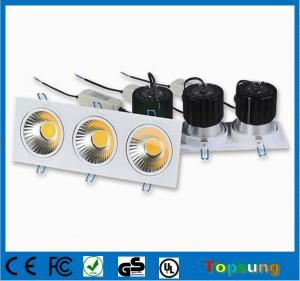 China Original 3x10w COB led downlights for indoor lighting on sale