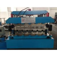 7.5KW Roof Panel Roll Forming Machine With Guide Pillar high Productivity Manufactures