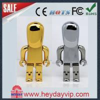 China Custom robot usb flash drive memory stick 8GB with logo for gift on sale