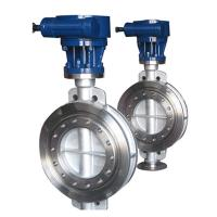 Bare stem  high temperature metal seat triple eccentric butterfly valve Manufactures