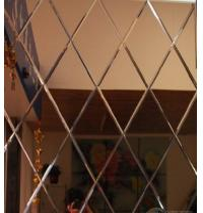 2016 new design luxurious art sandblasting spell mirror Manufactures