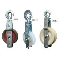 Nylon Cable Pulley Block For Power Transmission Line Stringing Construction Manufactures