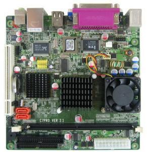 Quality VIA CN700 Mini-ITX Motherboard Onboard VIA C7 Processor for sale