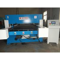 Simple Operation Accurate Hydraulic Die Cutting Machine Four Column Flat Bed Manufactures