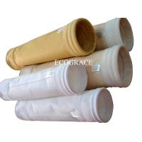 Pleated Needled Felt Air Filter Bag / Dust Filter Bags For Cement Kiln Manufactures