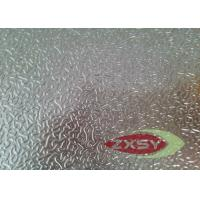 Hot Rolling Professional Embossed Aluminium Sheet For Household 1220 X 2440 Manufactures