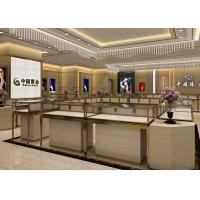 Stainless Steel Wooden Display Cases Large Space For Jewelry Display Manufactures