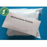 Muscle Growth Steroid Raw Powder Methenolone Acetate CAS 434-05-9 Manufactures