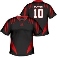 Wicking Mesh Cool Soccer Team Wear / Polyester 150gsm Sports Uniforms Manufactures