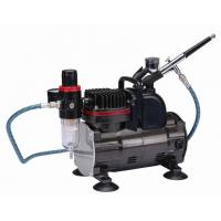 China Silent Portable Airbrush Air Compressor With Classic Silver Color TC-812K on sale