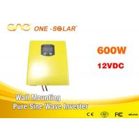 Rrechargeable 600w Pure Sine Power Inverter With Ac Charger , Home Solar Inverter Manufactures