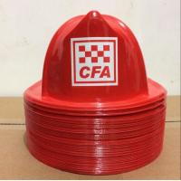 costume party hat,fire chief hat, plastic toy hat, fire chief helmet for children party toy hat to USA Manufactures