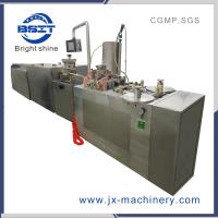 6 filling head middle capacity suppository filling and sealing machine Manufactures