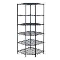 China H188 Heavy Duty Powder Coated Wire Shelving Easy To Install For Garage Storage on sale