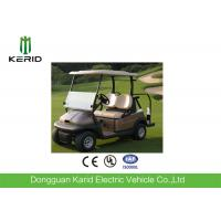 Battery Operated 2 Seater Small Electric Golf Carts 48V 4KW DC Motor Manufactures