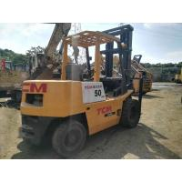 Quality Material Handling  FD50 Used TCM Forklift , Used Lifted Trucks 5m Lifting Height for sale