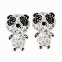 Animal Fashionable Earrings, Lovely CZ Stud Earrings, Hot-selling Jewelry  Manufactures