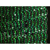 Nylon Mesh Spangle Sequin Embroidery Fabric Soft For Wedding Manufactures