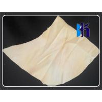 China Natural Shape Fish Oil Tanned Sheep Skin Genuine Chamois Leather Car Washing on sale