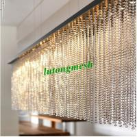 2015 Fashion Partition 6mm Gold Stainless Steel Ball Chain Curtain metal bead curtain Manufactures