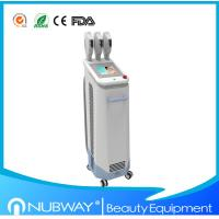 China Newest design !!! 1800w 3 handles IPL beauty machine with rock price on sale