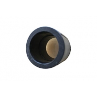 Plastic Raw Hydraulic Components HDPE Pipe Socket Joint
