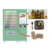 Winnsen Belt Cupcake Vending Machine Fruit Vegetables Vending Lockers With Lift System Manufactures