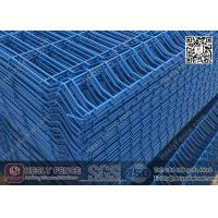PVC coated Welded Wire Mesh Panels with reinfored bend | 3D Mesh Panels Manufactures