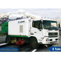 China XZJ5160TXS 8tons high pressure washing Road Sweeper Truck / streetsweepers with washer for tunnel and bridge on sale