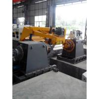 China Thick Coil Slitting Line Machine , High Stiffness Of The Structure Design on sale