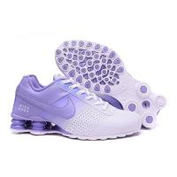 Nike Shox Deliver Shoes Light Blue Woman And Men