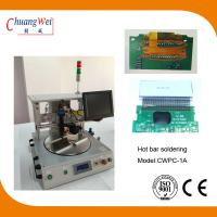 Extremely Short Cycle Time Hot Bar Soldering Machine With 0.25mm Pitch Manufactures