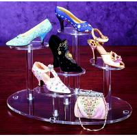 Luxury Clear Custom Acrylic Products , 1mm - 20mm Shoe Store Display Racks Manufactures