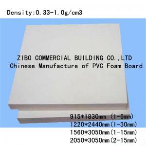 China Top Manufacturer Wholesale PVC Foam Sheet Manufactures